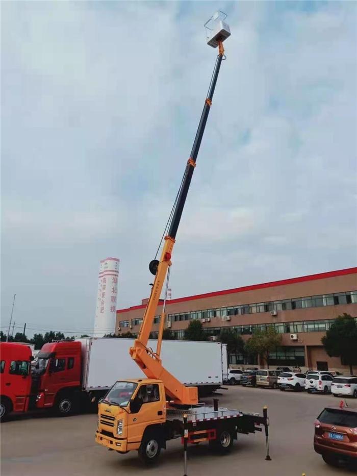路燈專用高空作業車_慶鈴高空作業車_17.5米藍牌直臂高空作業車_分期