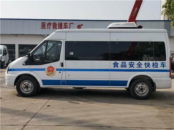 食品安全檢測車_食品安全快檢車_福特V348檢測車13607286060
