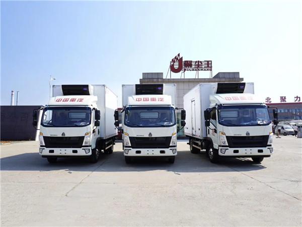 国六新款冷藏车报价及图片 4米2医疗废物转运车直销售价多少钱