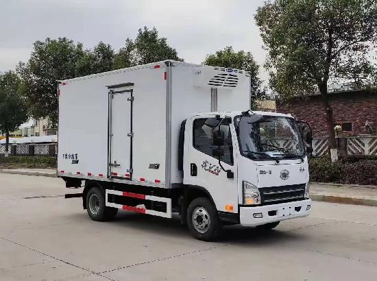 國六解放虎VN冷藏車_解放4米2冷藏車廠家價格、報價