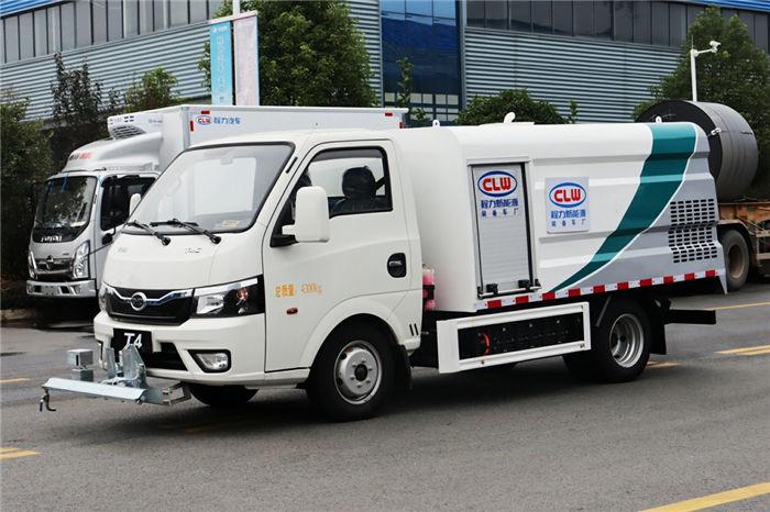程力牌比亞迪T4C-1.2方純電動路面養護車-湖北新能源生產廠家