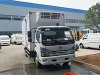5.2米國六東風大多利卡D7冷藏車報價