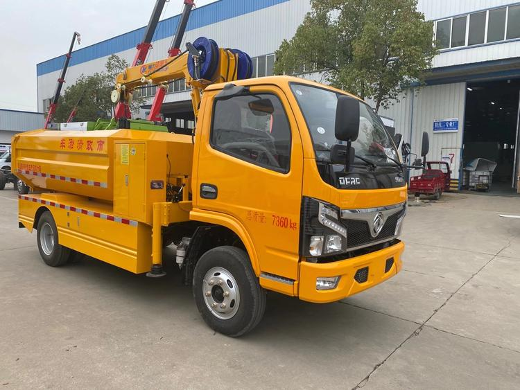 国六东风多利卡清淤车价格¥152000元