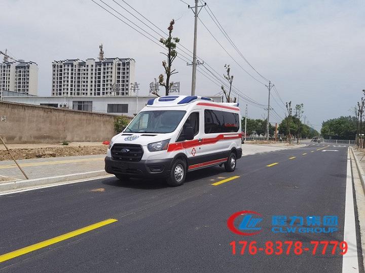 進口福特全順航空版救護車