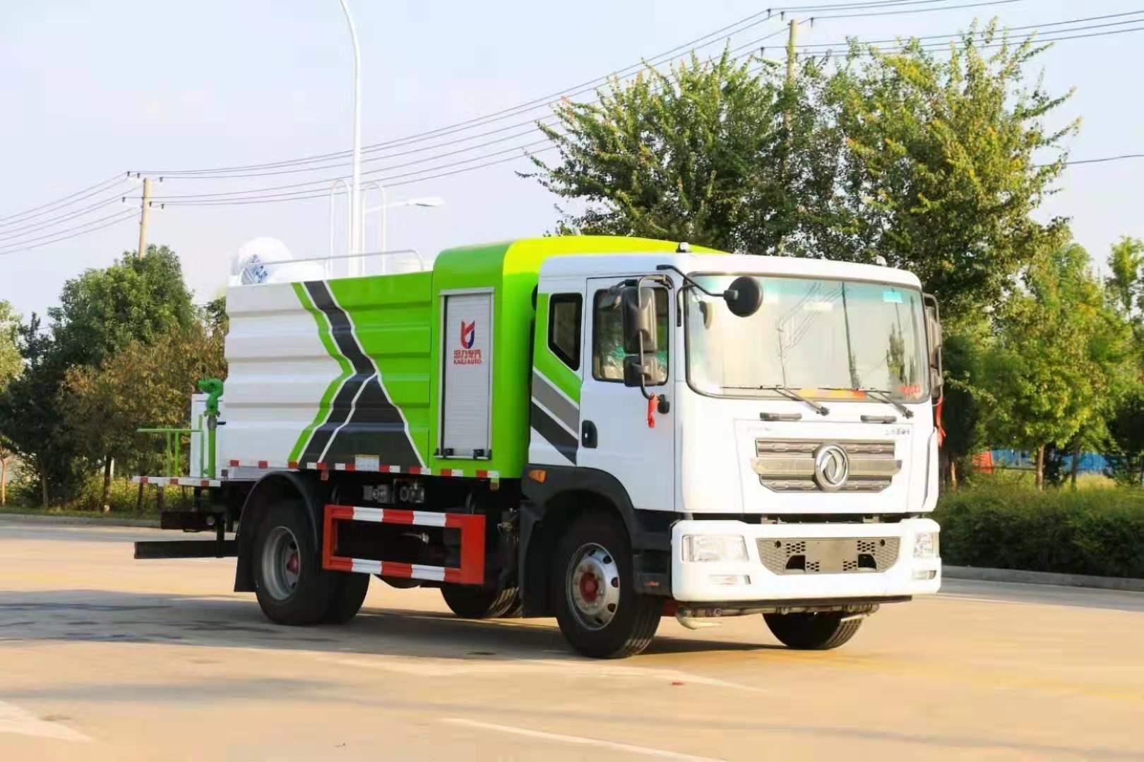 国六东风D9方罐30米-120米多功能抑尘车