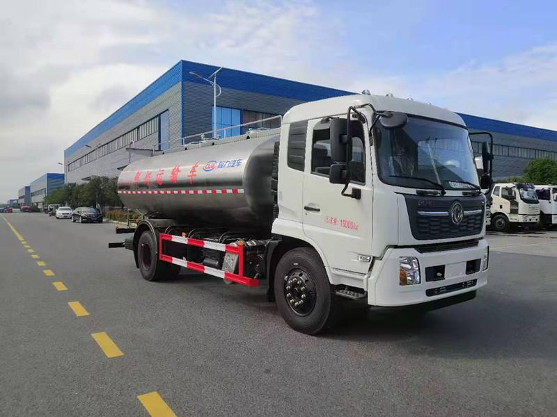 今日推薦:國六東風天錦12噸鮮奶運輸車廠家報價|配置|圖片