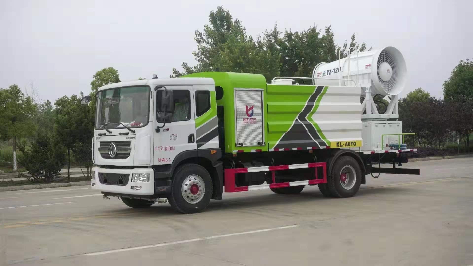120米国六东风多利卡D9高端多功能抑尘车