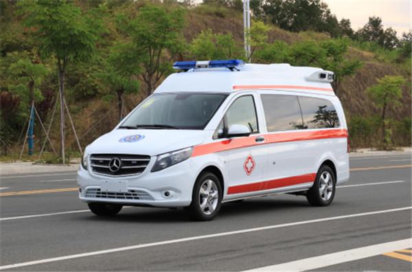 奔驰国六航空舱救护车_国六航空舱救护车