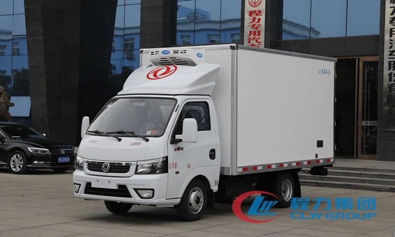 国六东风途逸汽油3.5米冷藏车疫苗冷链车