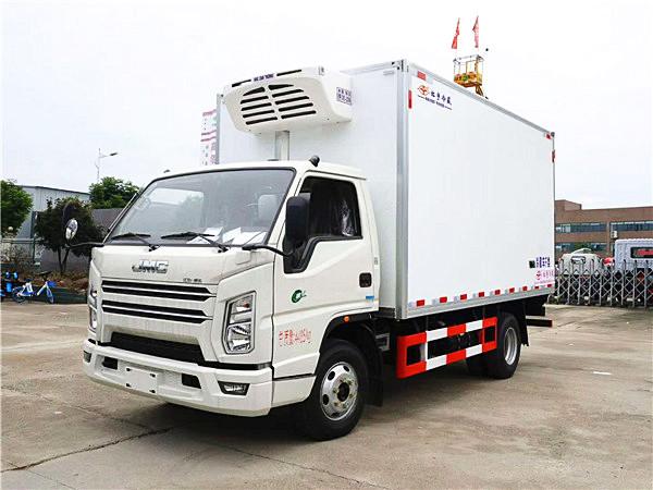 蓝牌厢长4.2米冷藏车-程力高端冷藏车厂家直销价格优惠1万