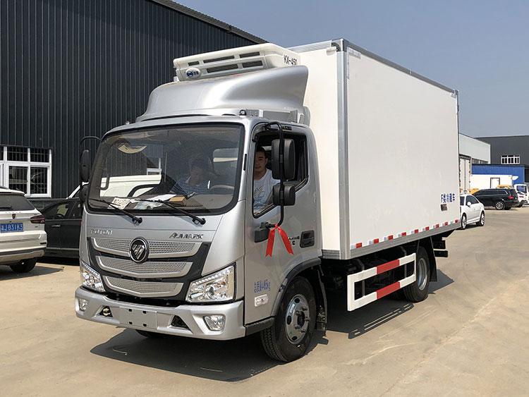 新款国六4米2福田欧马可冷链运输车 可分期购车包上牌