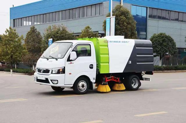 東風華神新能源小型掃路車