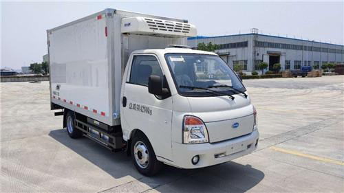 南京金龍開沃牌純電動C類冷藏車-新能源冷藏車廠家直銷