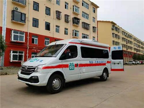 流動服務車-國六大通v80長軸中頂醫療體檢服務車