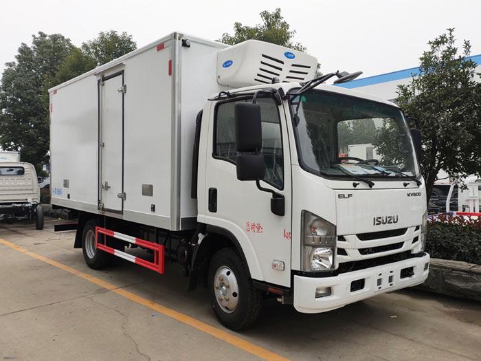 暢銷高顏值4米2冷藏車-國六慶鈴五十鈴KV600冷藏車