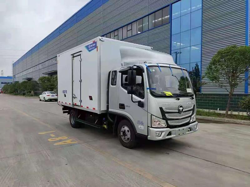 福田欧马可S1(排半)冷藏车厂家价格 优惠报价 配置参数