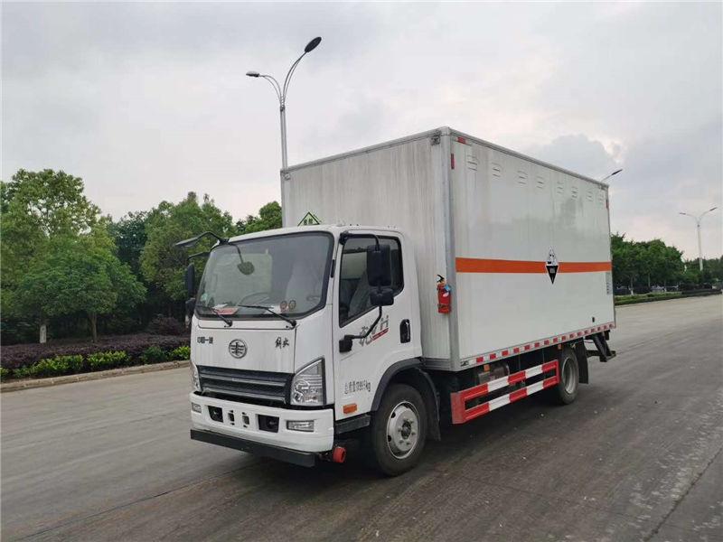 国六解放虎VH易燃气体运输车
