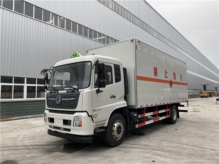 国六东风天锦6.2米/6.8米易燃气体厢式运输车