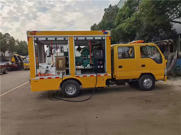 救险车移动潜水泵