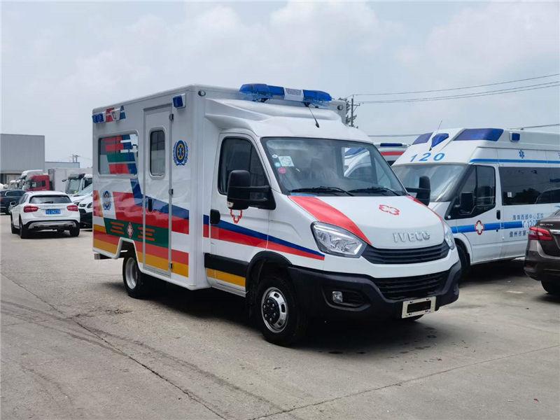 国六依维柯方舱救护车-抢救监护型救护车