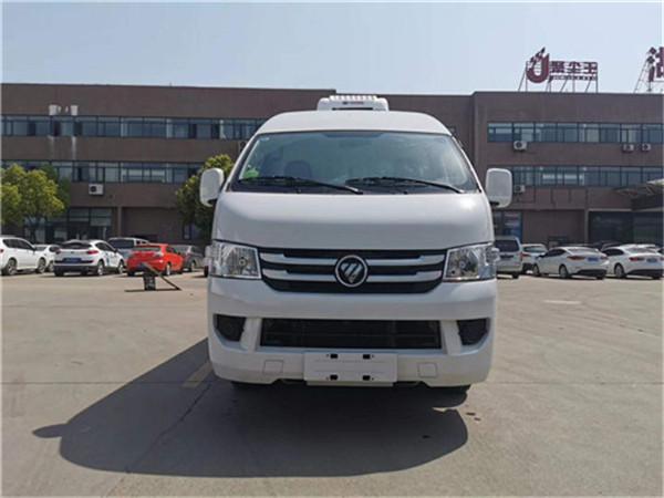 福田G7面包冷藏车-国六新款小型冷藏车最低多少钱可购车