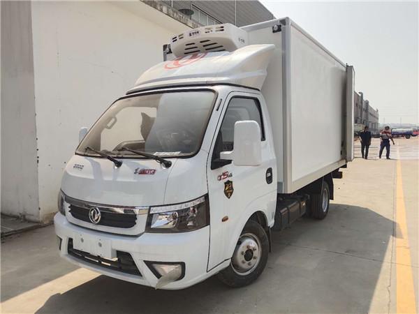厂家购车-东风途逸3.5米冷藏车多少钱一辆