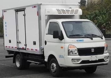 吉利遠程新能源綠牌純電動冷藏車
