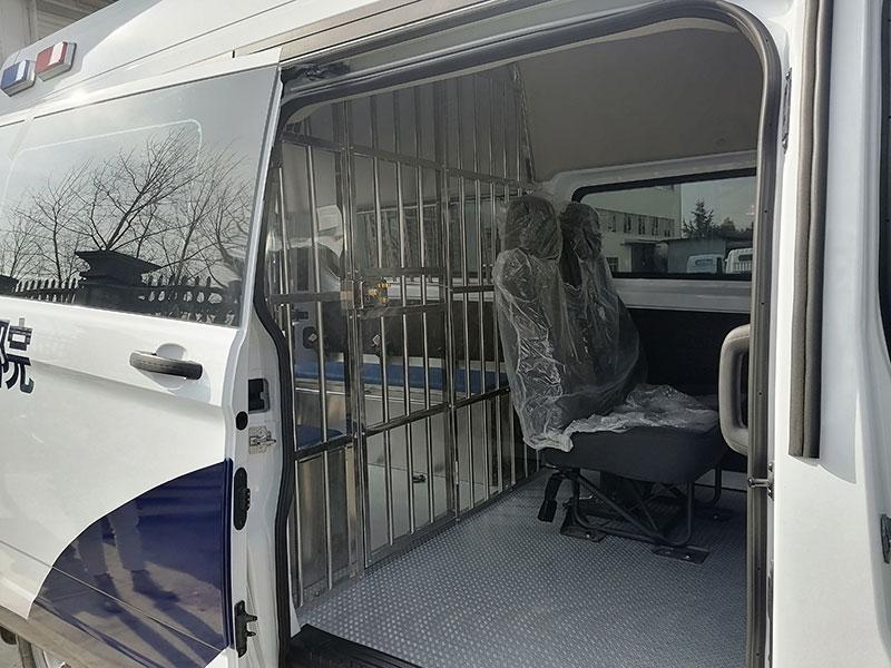14人座囚车福特新全顺V362警用囚车厂家