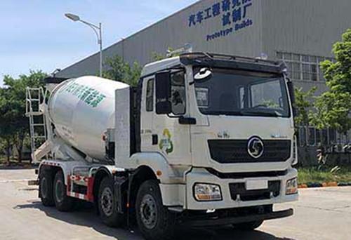 陕汽德龙新M3000新能源纯电动搅拌车
