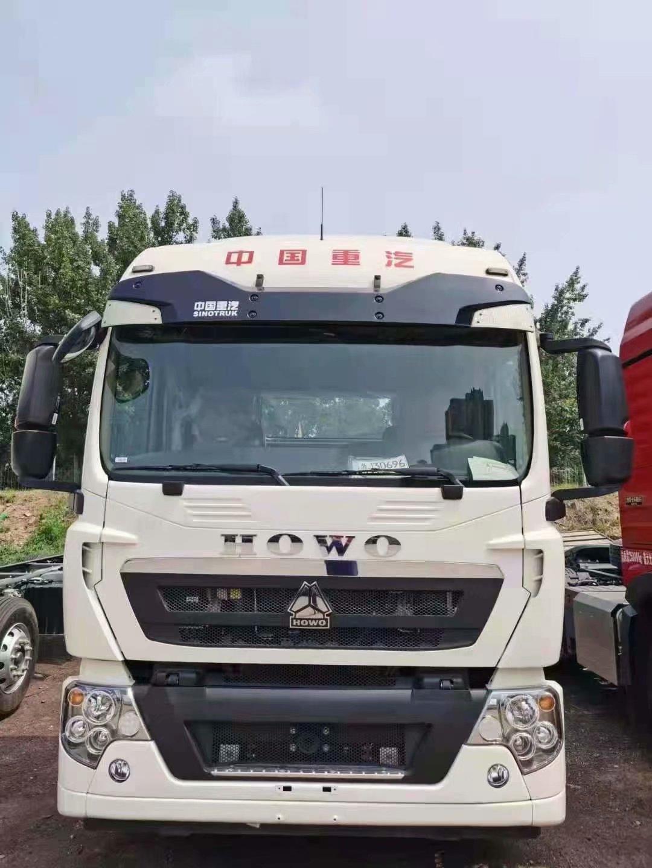 豪沃TX310马力9.6米载货车底盘国六排放