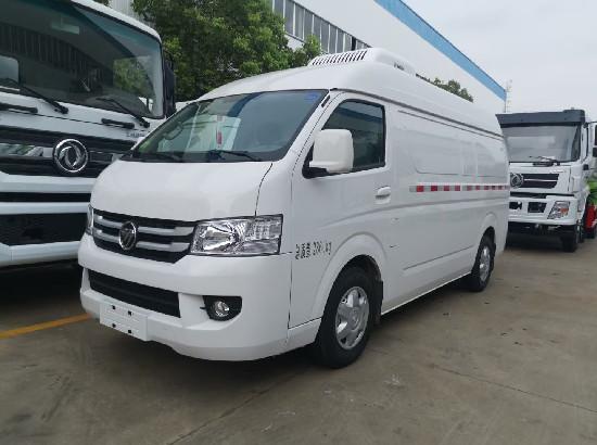 國六福田G7面包式冷藏車_福田G7面包小型生鮮冷凍保鮮冷藏車價格