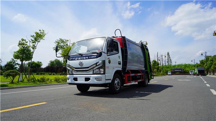 國六東風小多利卡6方壓縮垃圾車多少錢一輛