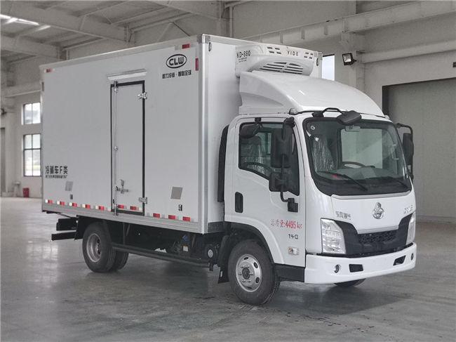 國六東風柳汽乘龍L2藍牌4.2米冷藏車藥品疫苗冷鏈車