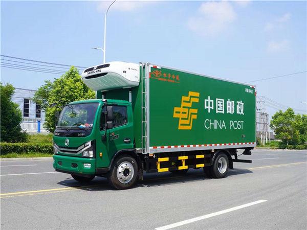 藥品冷藏車-蔬菜冷藏車-海鮮冷藏車-國六東風多利卡D8肉鉤冷藏車