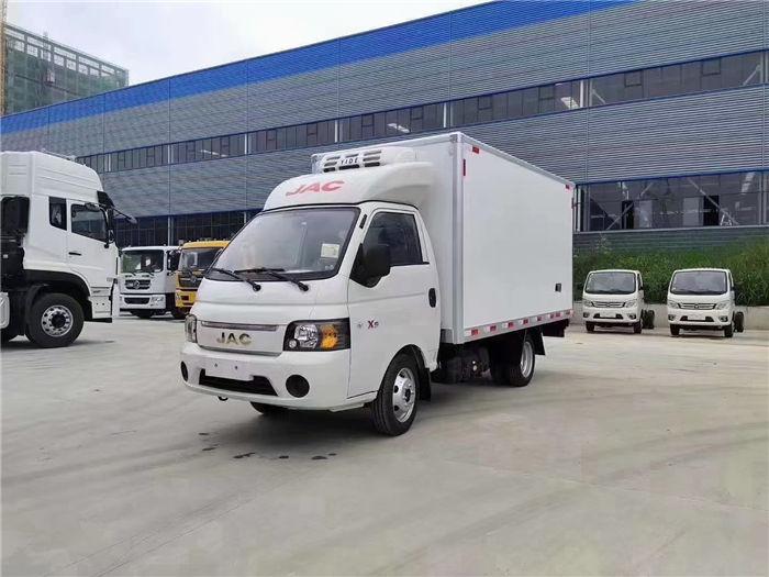 疫苗冷鏈車-國?江六?淮康鈴X5小型藥品冷藏車