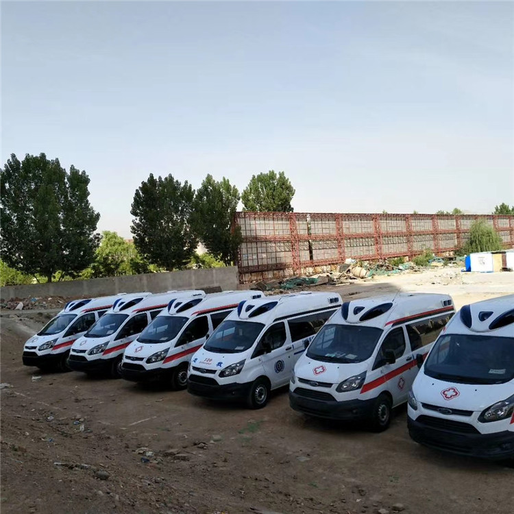 江鈴福特V362負壓救護車廠家 湖南鄉鎮專用救護車價格 圖片 參數