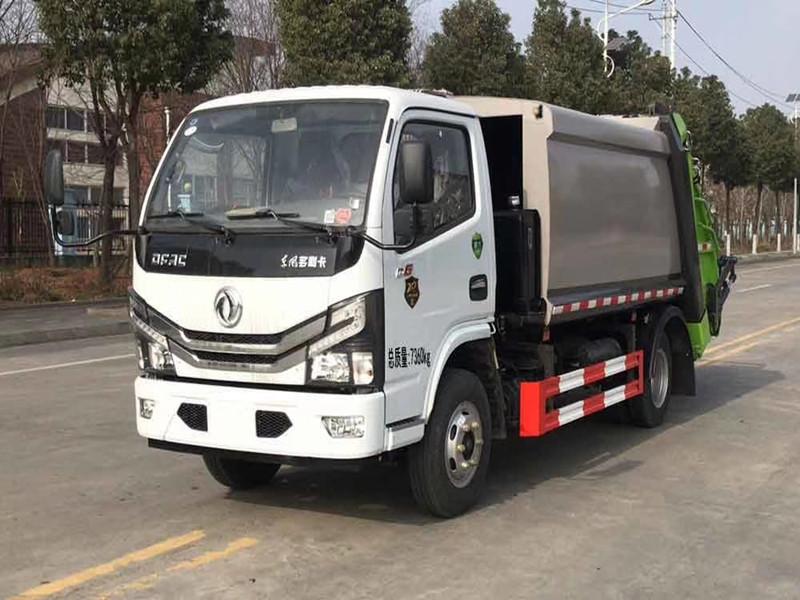 國六東風D6壓縮式垃圾車