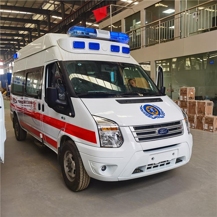 層流救護車 負壓救護車 來自美國福特汽車家族的不凡血統