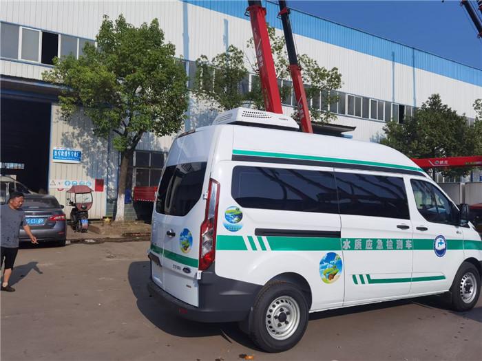 水質采樣車采購_水質檢測車_福特V362水質檢測車_國六藍牌_價格理念超前