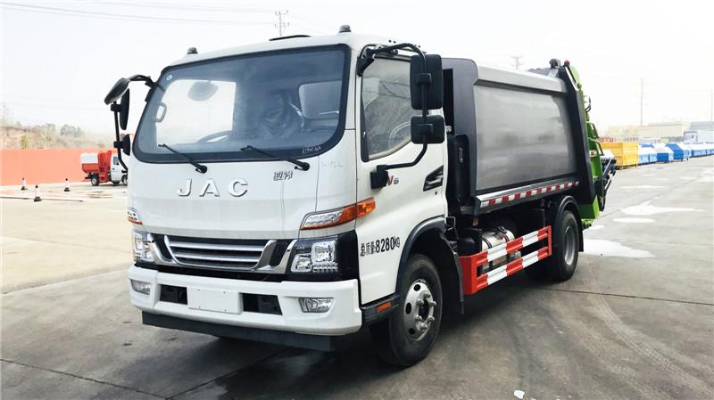 國六東風多利卡九方壓縮垃圾車