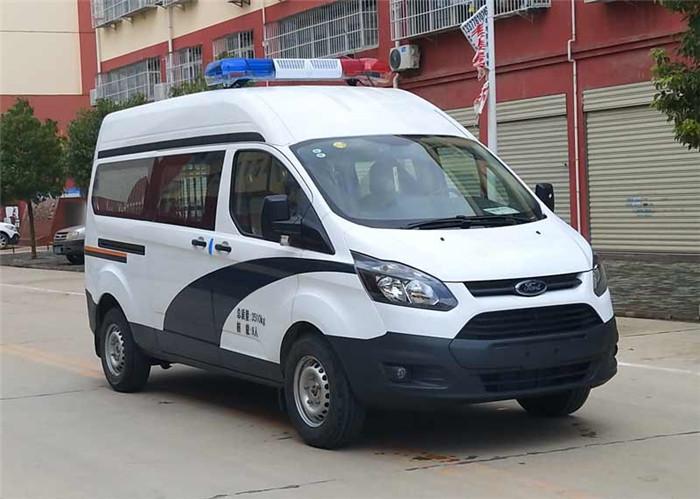 檢察院囚采購_監獄囚車_警用囚車360度無死監控_設計最合理的囚車