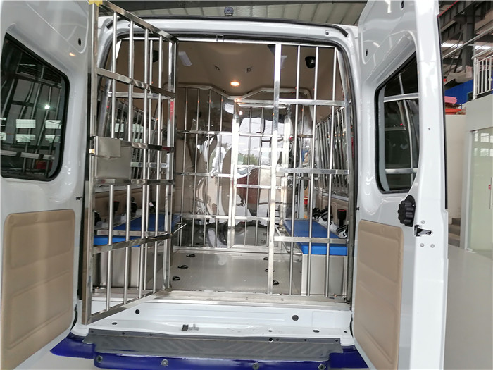 戒毒所囚車多少錢_公安囚車_解押囚車5G聯網_配置最高的囚車