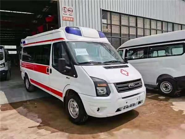 福特V362特順救護車現車兩臺特價直銷直降1萬