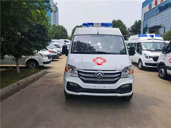 大通V80救護車最新廠家購車報價表