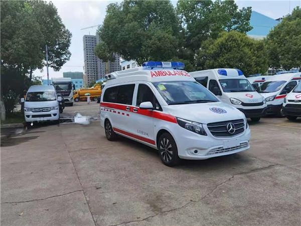 國六轉運型救護車奔馳牌廠家直銷售價多少錢