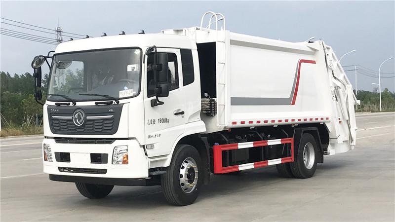 東風天錦14方壓縮垃圾車,實測可裝240升共計280桶,品質保證,售后無憂