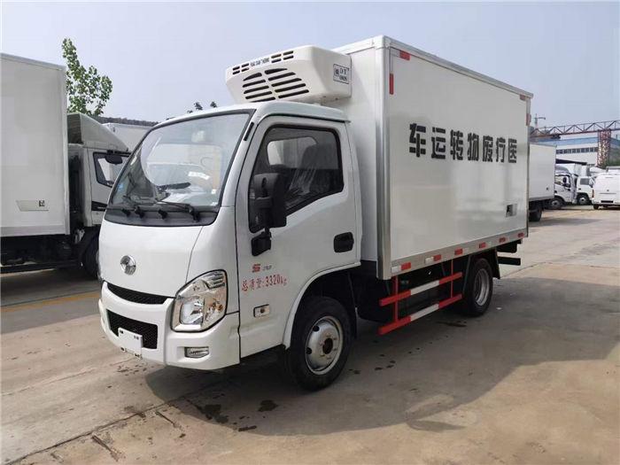 國六躍進汽油3.26米醫療廢物轉運車