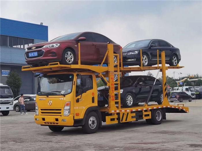車輛運輸車新品上市-國六成都大運三位板轎運車