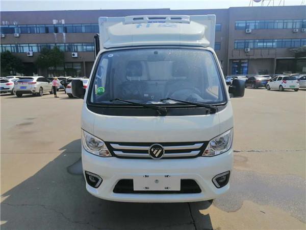 福田小型冷藏車廠家熱銷 新款2.68米冷藏車多少錢一輛