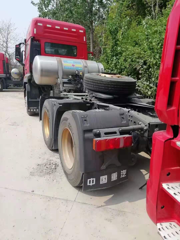 重汽豪瀚牵引车 3.08速比国六排放440马力1000L气瓶
